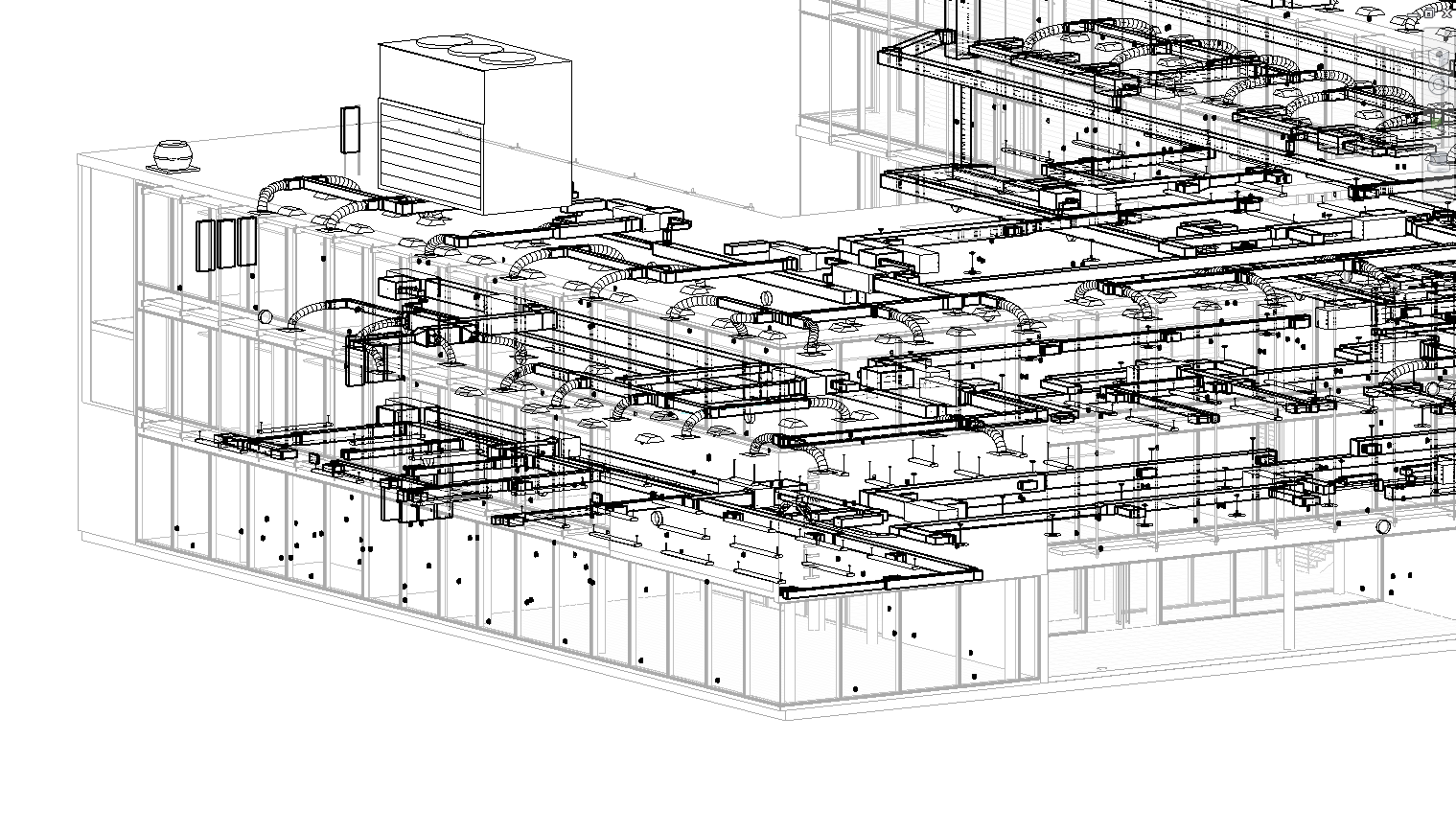1001 Hvac Layout Setup Process Part 1 Search Autodesk Knowledge Drawing Details Top An Entire Buildings Is Shown Above With Multiple Zones And Units Simulating All Of The Complexities For Building