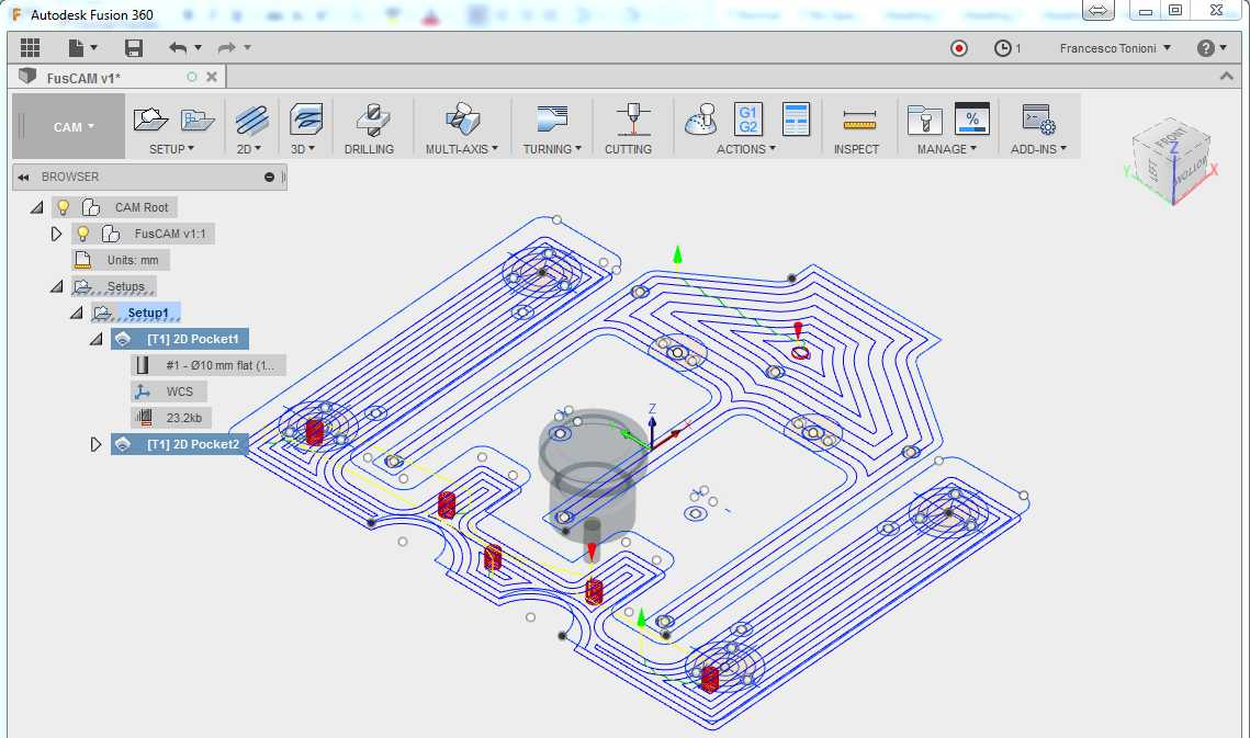 Machine AutoCAD 2D drawings in Fusion 360! | Fusion 360 | Autodesk