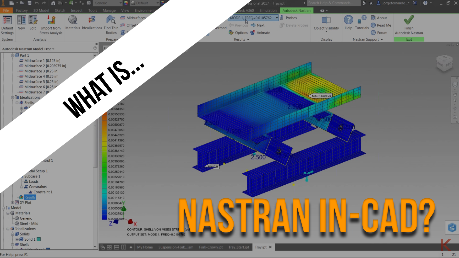 What Is Autodesk Nastran In Cad Search Autodesk Knowledge Network
