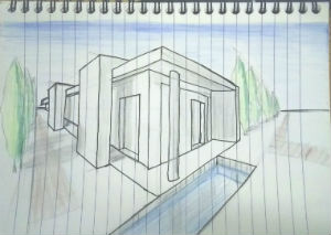 2 Point Perspective Drawing Study