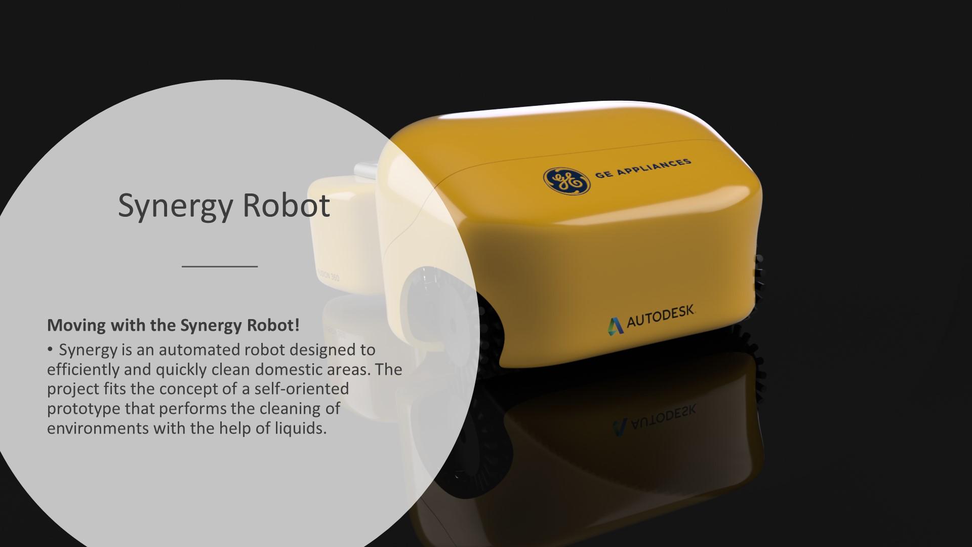autodesk design for robotics challenge synergy robot domestic