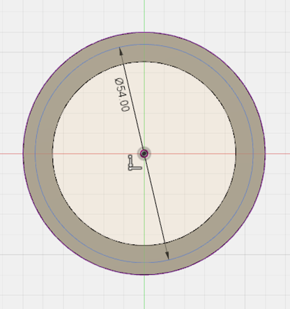 How to cut a retaining ring groove into a pipe in Autodesk