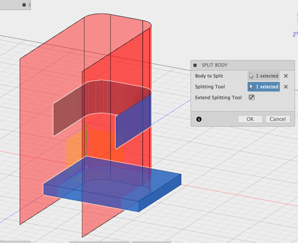 How to Split a Solid Into Two Bodies   Fusion 360   Autodesk