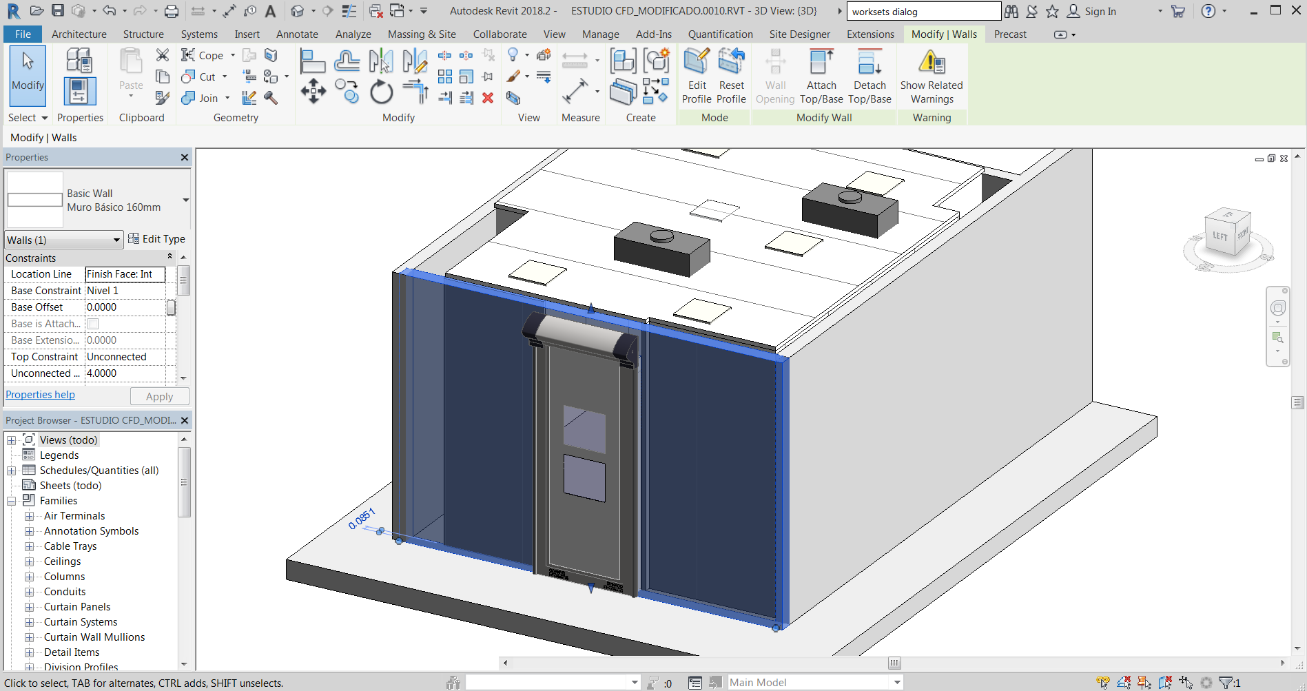 Revit to CFD workflow - Tools to take a Revit model into CFD