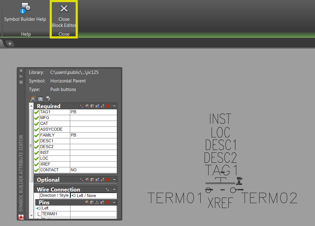 Creating a Custom Component in AutoCAD Electrical Exits Unexpectedly ...
