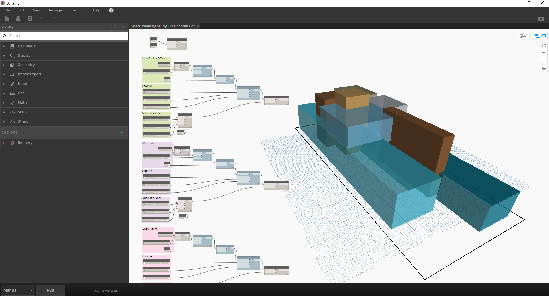 Use reality capture with BIM for space distribution | ReCap