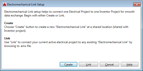 Electromechanical linking in AutoCAD Electrical and Autodesk