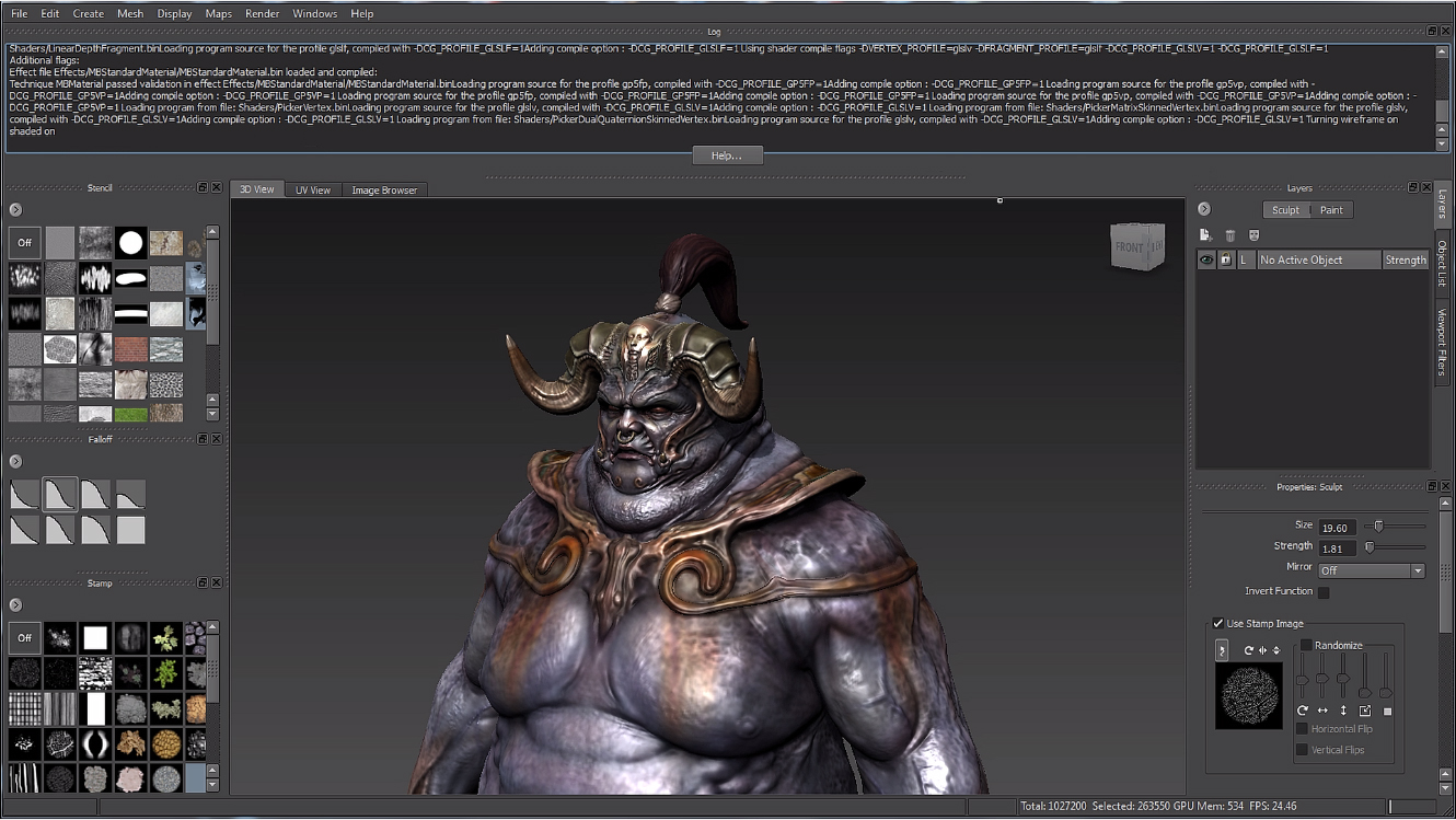 Mudbox Overview - UI | Mudbox | Autodesk Knowledge Network