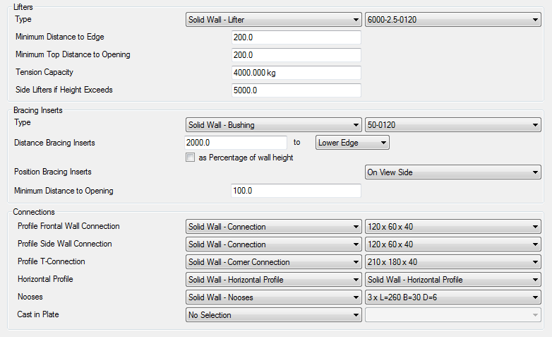 structural precast for revit configuration settings revit